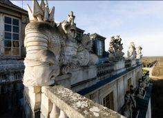 Chateau Versailles, Toit de l'Opéra Royal. (Roof of the Royal Opera.) © EPV / Thomas Garnier