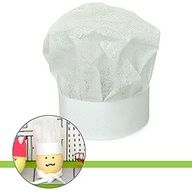 Turn your Easter Eggs into Chefs with a tissue paper hat. http://www.parents.com/holiday/easter/crafts/hats-off-to-easter-eggs/?page=5