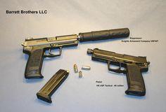 HK45 with Suppresor