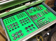 Green Tool Tray