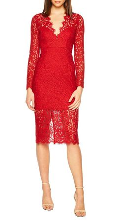 Meghan Markle Just Wore the Most Stunning Red Dress–Here's How to Copy Her Look for Less Midnights Lace Dress (Meghan Markle's Red Dress Get the Look) Self Portrait Dress, Peplum Dress, Lace Dress, Bodycon Dress, Dress Red, Meghan Markle, Mac, Glamour, Shopping