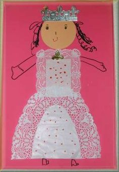 """""""Do Princesses Wear Hiking Boots"""" is a GREAT book to teach kids with Fairy Land, Fairy Tales, Fairy Tale Crafts, Art For Kids, Crafts For Kids, Princess Crafts, Queen Birthday, Ecole Art, Creative Thinking"""