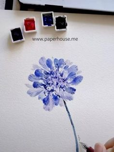 Purple Flowers Watercolor Paintings Whenever you want to paint flowers, try playing with our Paul Rubens Glitter Watercolor set Watercolor Paintings For Beginners, Watercolor Tips, Abstract Watercolor, Watercolor Projects, Watercolor Effects, Watercolor Artists, Watercolor Portraits, Watercolor Cards, Watercolor Landscape