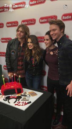 Austin and Ally cast on Radio Disney