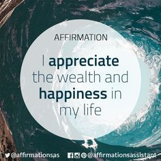 Thank you I am worthy of wealth and happiness in my life. Wealth Affirmations, Morning Affirmations, Law Of Attraction Affirmations, Positive Affirmations For Success, Positive Thoughts, Positive Vibes, Positive Quotes, Mantra, Miracle Morning