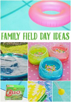 Create a fun family weekend with these ideas for a field day! Get outside and get moving! #JustAddJELLove #ad @KRAFTJELLO