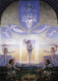 The Great Morning by Philipp Otto Runge