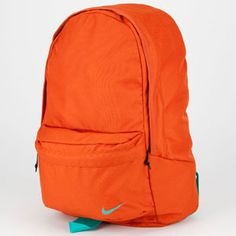 orange nike backpack