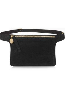 Clare V Nubuck belt bag | NET-A-PORTER