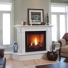 Majestic Onyx Direct Vent Gas Fireplace