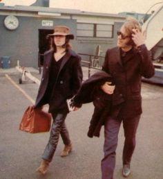 Ray Manzarek and Jim Morrison