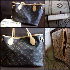 Louis Vuitton Neverfull Handbag - $235.99! #LV #Louis #Vuitton #Handbags