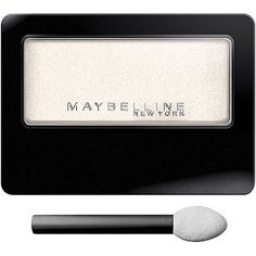 MaybellineExpert Wear Eyeshadow Single in Linen (pictured) and Tastefully Taupe. I found these eyeshadows gave too sheer of an application and faded throughout the day.