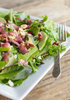 Harvest Salad With Cranberry Vinaigrette