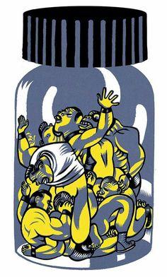 Santiago Sequeiros. ilustración prensa.