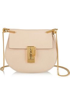Chloé Drew small textured-leather shoulder bag | NET-A-PORTER