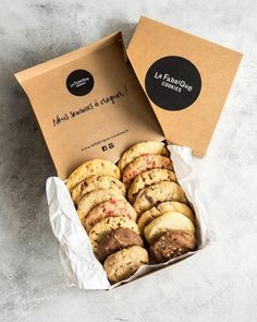 Brownie Packaging, Baking Packaging, Dessert Packaging, Jar Packaging, Food Packaging Design, Chocolate Packaging, Biscuits Fondants, Cookies Et Biscuits, Cookies Branding