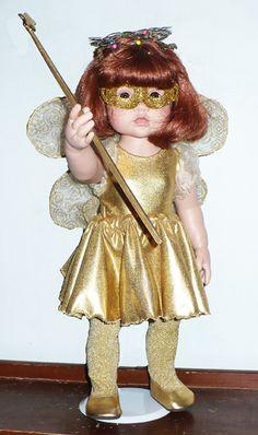 A fun golden fairy.