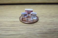 Wasting Gold Paper: My Micro Dollhouse Collection - tips on how to make them but would need to join Yahoo group