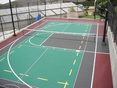14 Multi Sport Ideas Sport Court Tennis Court Basketball Court