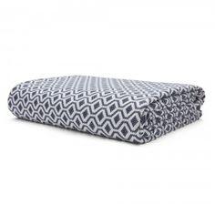 basic tagesdecke aus baumwolle mit relief schlafen. Black Bedroom Furniture Sets. Home Design Ideas