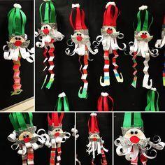 Christmas Around the World, cute Danish Elf activity.