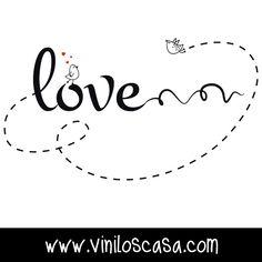 ❤ #Frasesdeamor para compartir --> www.viniloscasa.com ❤
