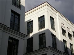 The new Westend-Ottensen developement in Hamburg, Germany. Nice abstract classicism.