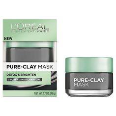 L'Oréal® Paris Pure-Clay Mask Detox & Brighten 1.7 oz : Target