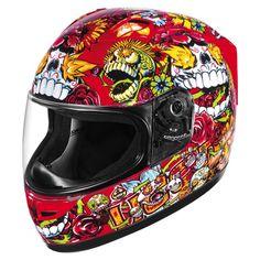 Icon Alliance SSR Dia De Los Muertos Helmet.