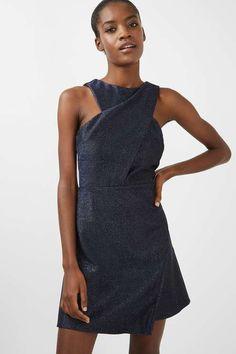 Cross Front A-Line Dress