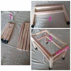 百均の材料だけでできる引き出し付き収納カフェ風ミニテーブルを作ってみました。