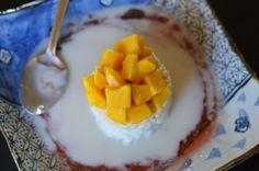 Yummy Mango Sticky Rice...love this stuff!