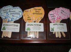 Marzano's questioning sticks for guided reading