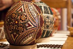 Easter painted eggs from Bucovina | by Dragos Cosmin- Getty Images Artist