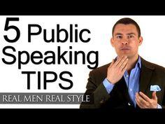 5 Tips To Improve Your Public Speaking - How To Speak Professionally - Speech Speaker Tips - YouTube