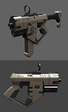 SMG wip 5 by Aberiu on DeviantArt