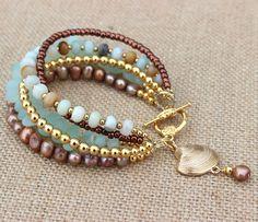 Womens Beach Bracelet by InspiredTheory on Etsy