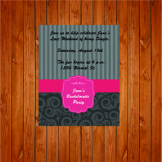The product Bachelorette Party Invite is sold by Personally Graphic in our Tictail store.  Tictail lets you create a beautiful online store for free - tictail.com