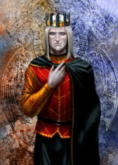 Jaehaerys II Targaryen (225AC - 262AC), Successor of Aegon V and King of the Seven Kingdoms (259AC - 262AC). Son of Aegon V. A clever but sickly man, he married out of love like his father but commanded his son, Aerys II, and daughter to wed. Promoted Ser Barristan Selmy, hero of the War of the Ninepenny Kings, to his Kingsguard. His reign was short, but effective. Grandfather to Rhaegar, Viserys and Daenerys.