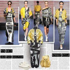 PFW SS15 Jean Paul Gaultier Street Style