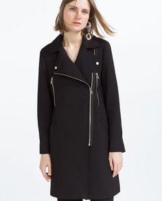 BIKER COAT from Zara