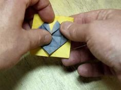 Folding the Black Eyed Susan Origami Bonsai Flower ***