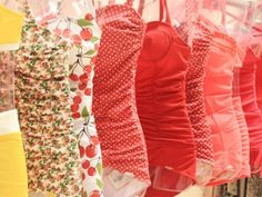 8 Gorgeous DIY Swimwear to Sew ... Would probably have to start working on these now considering how slowly I sew...