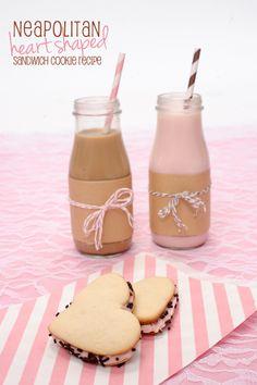 yummie milkshakes and macarons love it!