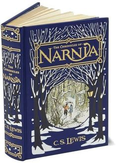 The Chronicles of Narnia. Leather bound all seven books into one!