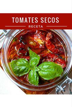 tomates secos receta