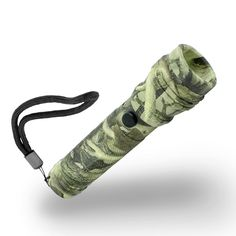 Xtreme Bright Camo LED Flashlight-3 Light Modes, 280 Lumens, Water Resistant, Instant Pinpoint Zoom Focus - Perfect Patio Deck Light, Portable Work Light; Valuable Addition To Camping & Hiking Equipment