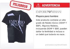 Armani Playera   #Detox #Fashion