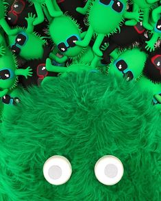 💚🖤Hugo the Hugga and the Fuzzy Guy Pencil cases are taking over!!!!!!!🖤💚